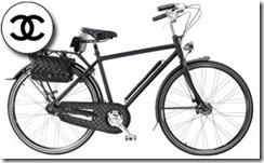 bicicleta de chanel