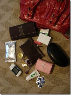 Las cosas de mi bolso