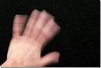 a hand goodbye