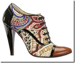 zapatos oxford Just Cavalli