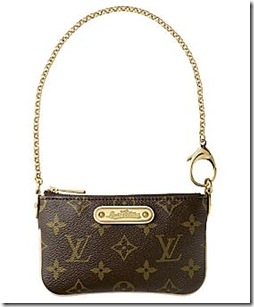 milla monogram canvas Pochette PM