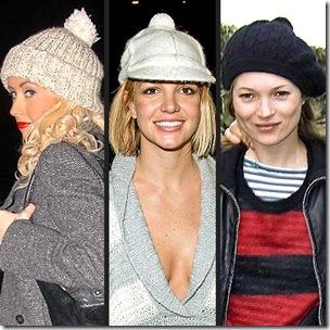 celebrity pom-pom-hats